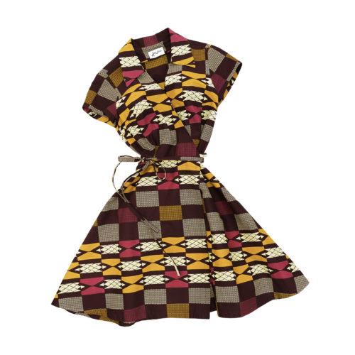 time4africa - Wrap Dress No1