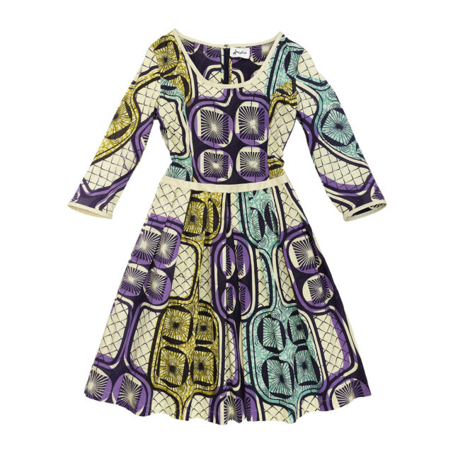 time4africa - Dress with Pleated Skirt