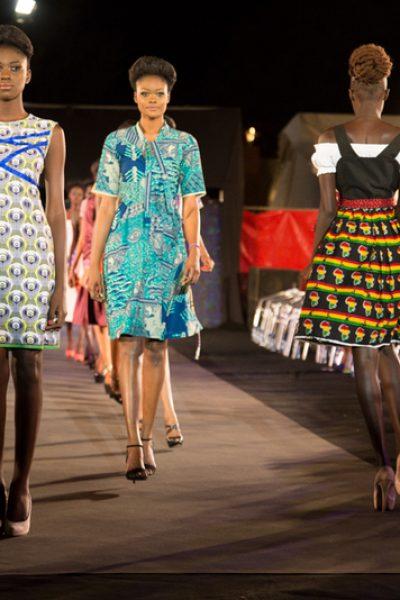 time4africa zum Abschluss des Catwalk © Luciana De Michele